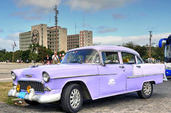 Vintage Chevrolet in Havana Stock Images