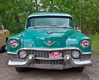 Vintage Chevrolet during old cars race Royalty Free Stock Photography