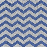 Vintage chevron pattern - seamless pattern - blue-white color - Stock Images