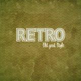 Vintage chevrons pattern Stock Image
