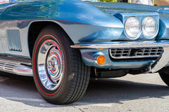 Vintage Chevy Corvette Images libres de droits
