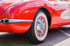 Vintage Chevy Corvette Royalty Free Stock Photography