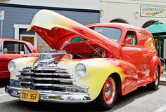 Vintage 1948 Chevy Panel Truck Stock Image