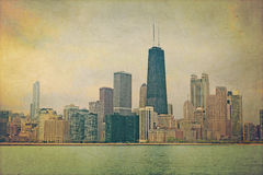 Vintage Chicago Royalty Free Stock Photos