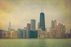 Vintage Chicago stock illustration