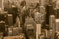 Free Vintage Chicago Stock Photography - 44268172