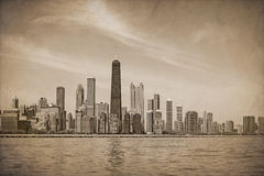 Vintage Chicago Royalty Free Stock Image