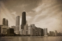 Vintage Chicago Royalty Free Stock Photography