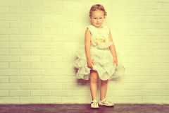 Vintage child Royalty Free Stock Photos