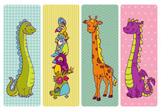 Vintage Children Banner Set Stock Images