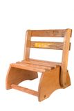 Vintage Childs Convertible Chair And Stepstool Stock Photography
