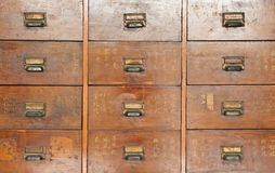 A vintage chinese cabinet Royalty Free Stock Photography