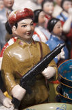 Vintage chinese figurines Stock Images