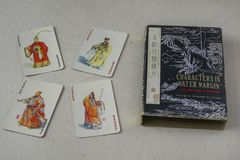 Vintage Chinese Playing Cards Stock Photos