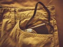 Vintage chino pants Stock Photo
