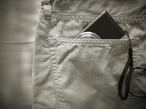 Vintage chino pants Stock Images