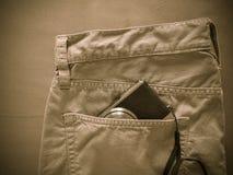 Vintage chino pants Royalty Free Stock Image