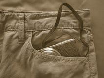 Vintage chino pants Stock Photography