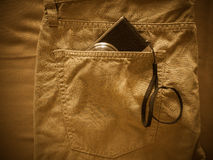 Vintage chino pants Royalty Free Stock Images