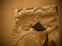 Vintage chino pants Royalty Free Stock Photo
