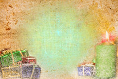 Vintage christmas background. Abstract vintage christmas background illustration Stock Photos