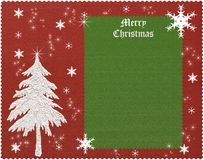 Vintage christmas background. Vintage red and green xmas background vector illustration