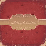 Vintage Christmas Background. Stock Images