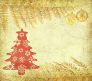 Vintage christmas background Stock Photo