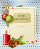 Vintage Christmas background Royalty Free Stock Images