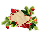 Vintage Christmas background Royalty Free Stock Photo