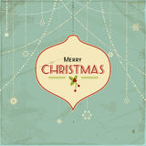 Vintage christmas background2 Royalty Free Stock Photos