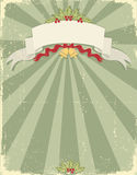 Vintage christmas background for design stock images