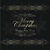 Vintage Christmas background for invitation, Stock Photo