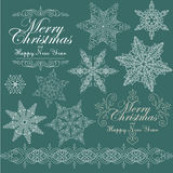 Vintage Christmas background for invitation, Royalty Free Stock Images