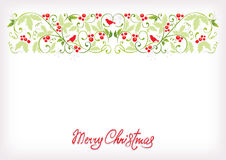 Vintage Christmas background Stock Photos