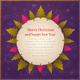 Vintage Christmas background Royalty Free Stock Photography