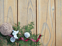 Vintage christmas background Royalty Free Stock Photos
