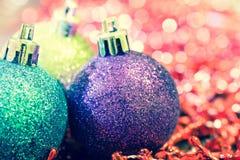 Vintage Christmas ball Stock Photos