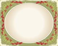 Vintage Christmas card Stock Photo