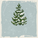 Vintage Christmas card Royalty Free Stock Photos
