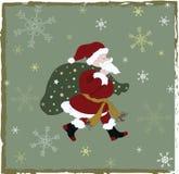 Vintage Christmas Card Royalty Free Stock Photos