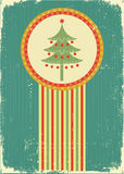 Vintage Christmas card for background Royalty Free Stock Photos
