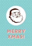 Vintage Christmas Card Royalty Free Stock Image
