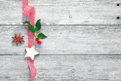 Vintage Christmas decoration Royalty Free Stock Photography