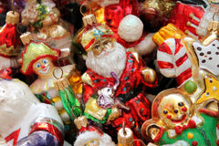 Vintage christmas decoration Stock Images