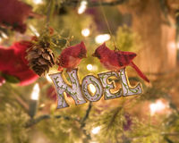 Vintage Christmas decorations Royalty Free Stock Image