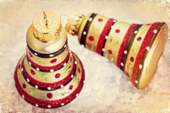 Vintage Christmas Decorations Royalty Free Stock Photos