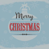 Vintage Christmas design Stock Photography
