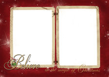 Vintage Christmas Frame Royalty Free Stock Photos