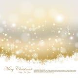 Vintage Christmas greeting card Stock Photography